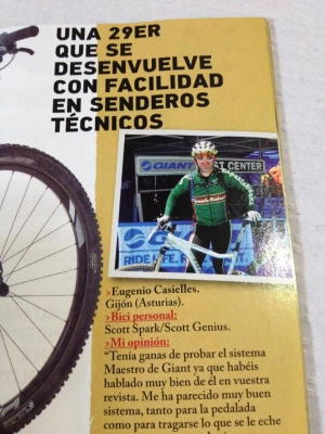 Team Espantaliebres en la revista BIKE