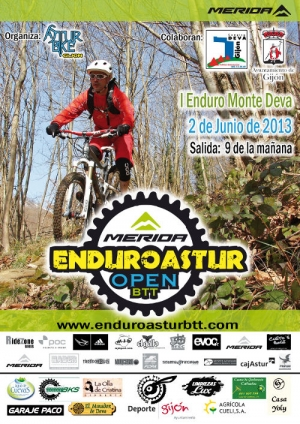 Cartel Open Enduro Astur DEVA